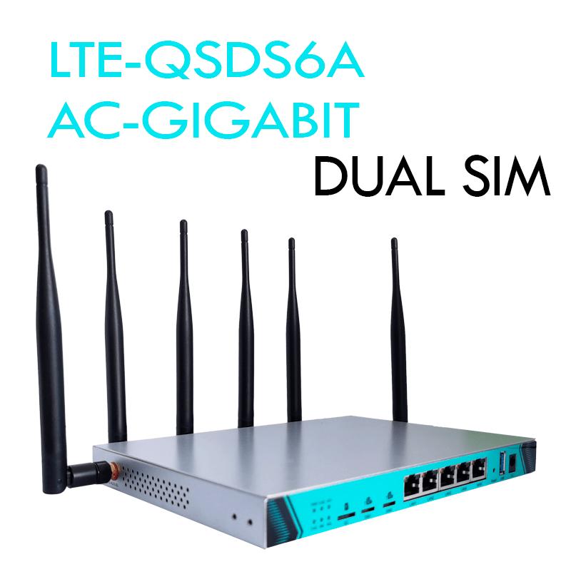LTE-QSDS6A AC-GIGABIT DUAL SIM