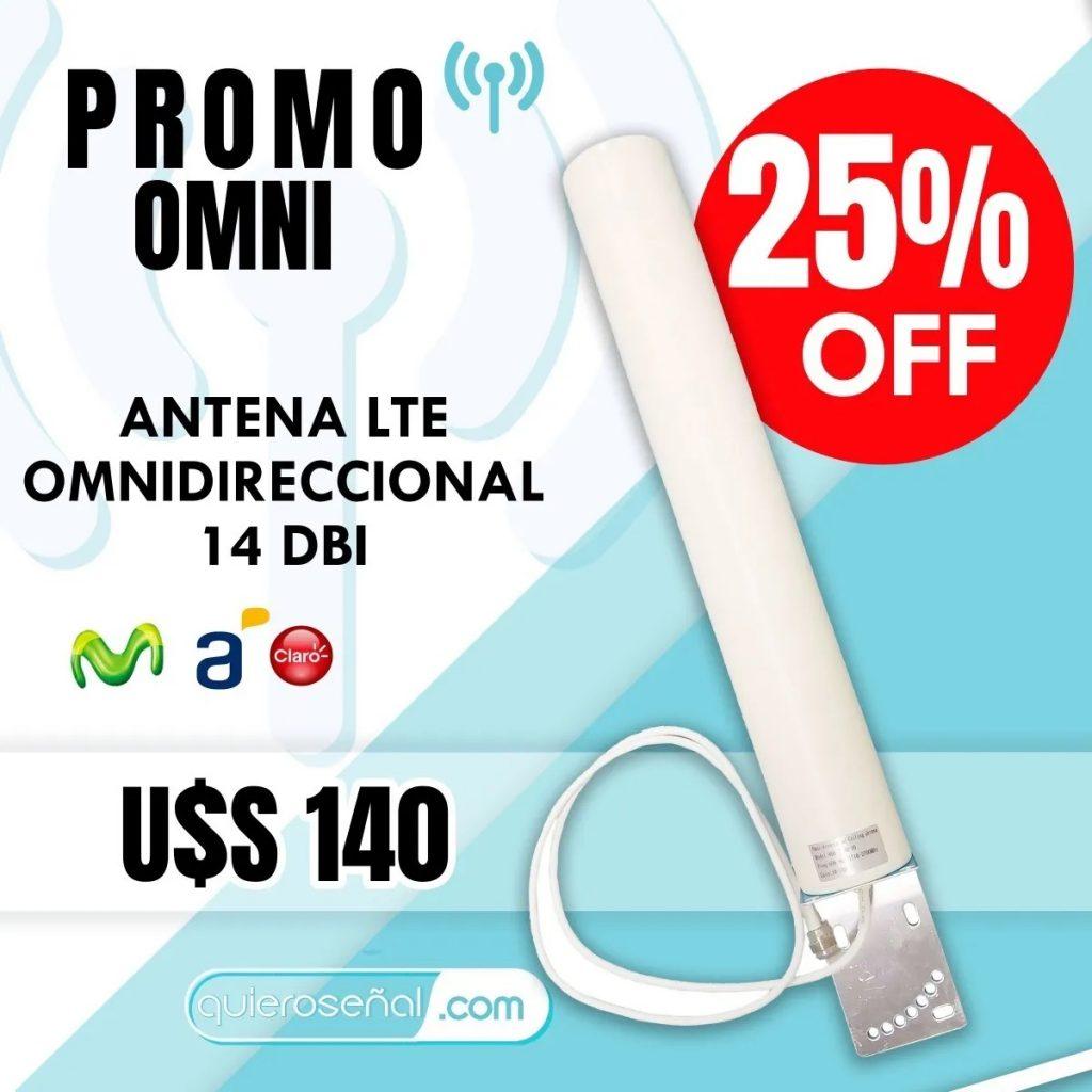 Antena Omnidireccional 14dbi - Lte 4g-3g-2g Huawei-zte