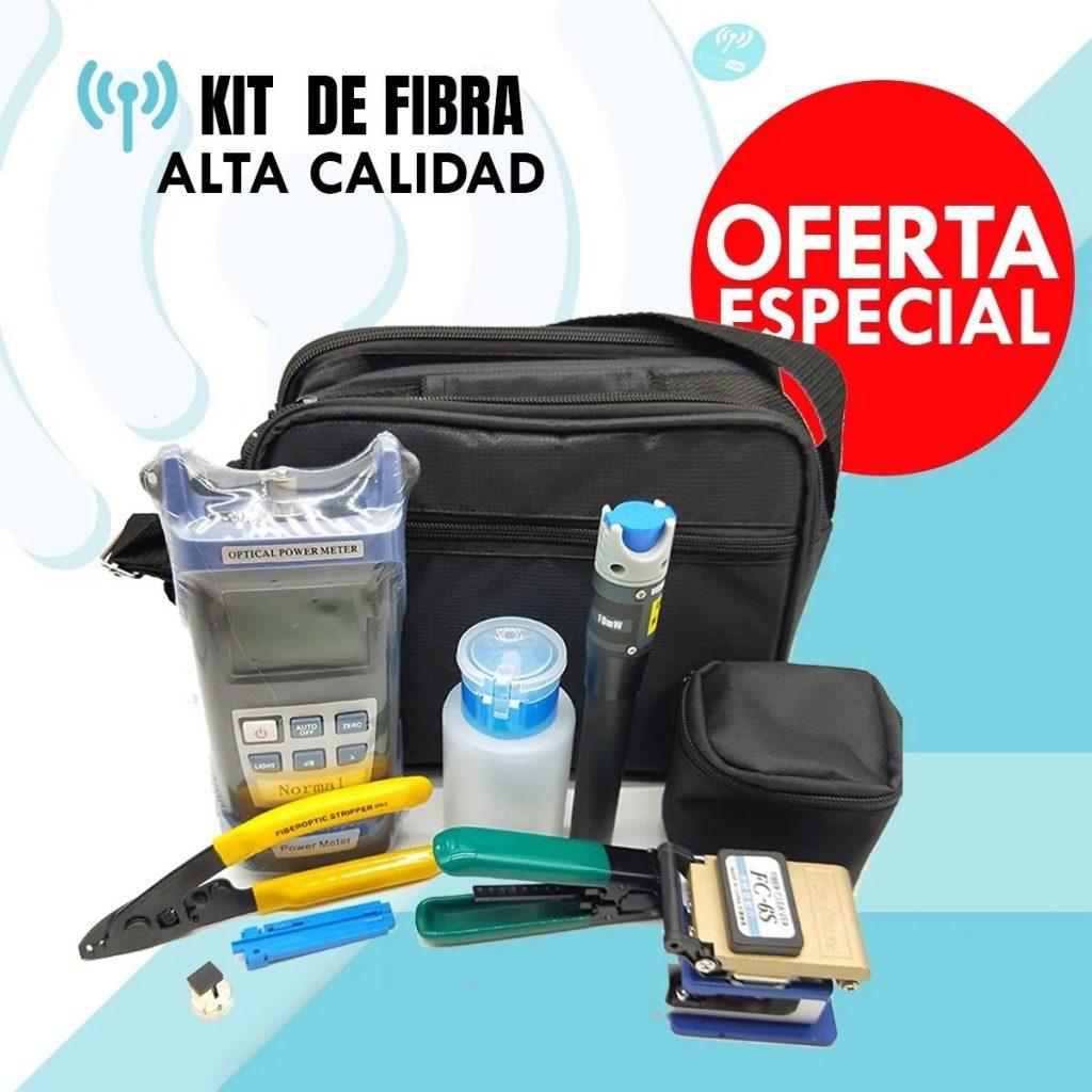 FTTH- Kit completo De Fibra Óptica (Herramientas)