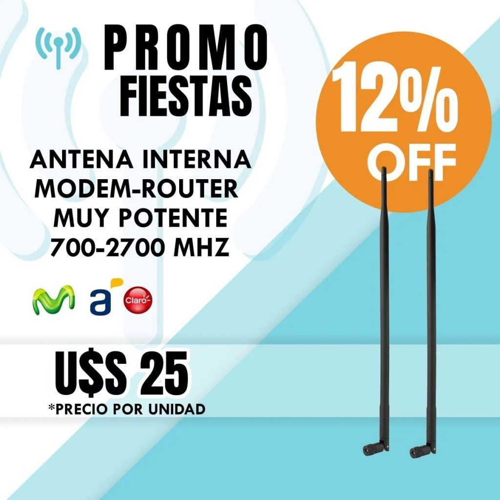 Antena Modem Ancel Claro (interna/externa) 9dbi