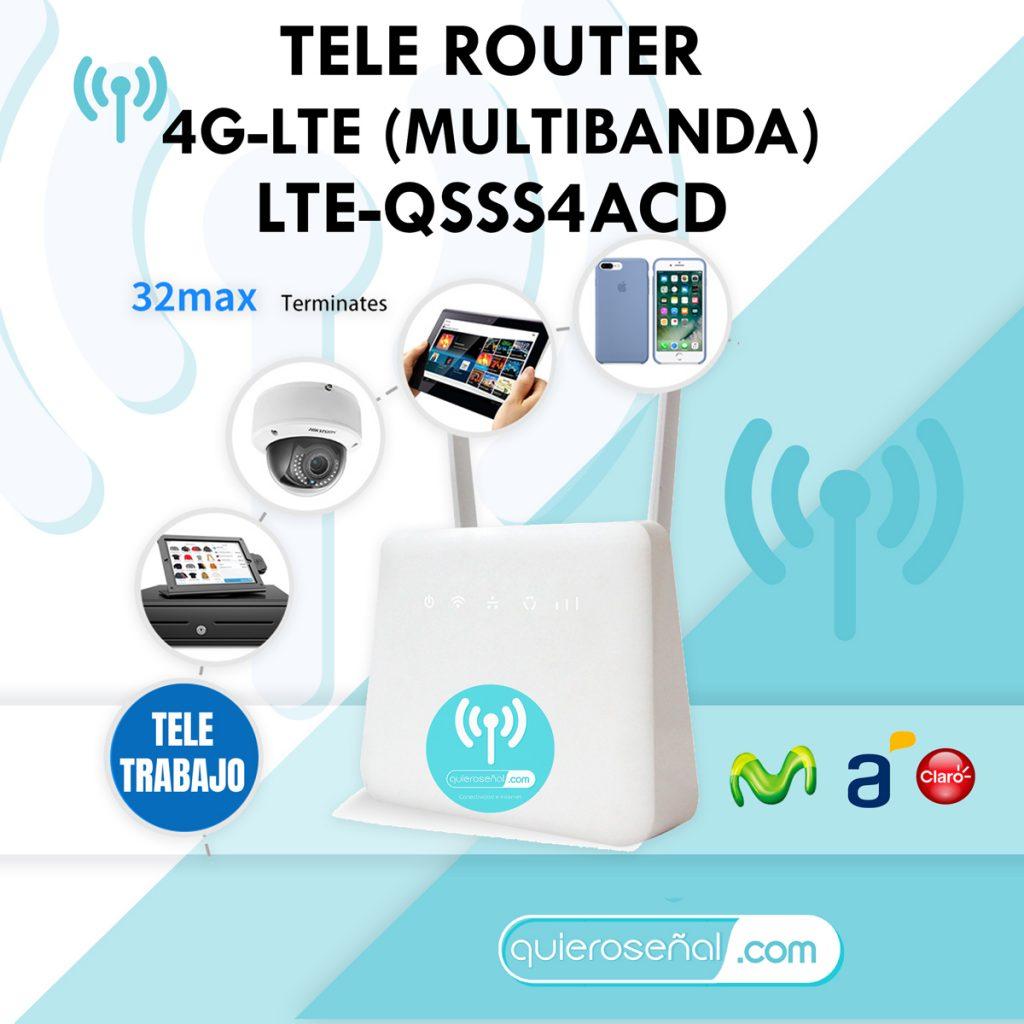 ROUTER 4G LTE-QSSS4AD