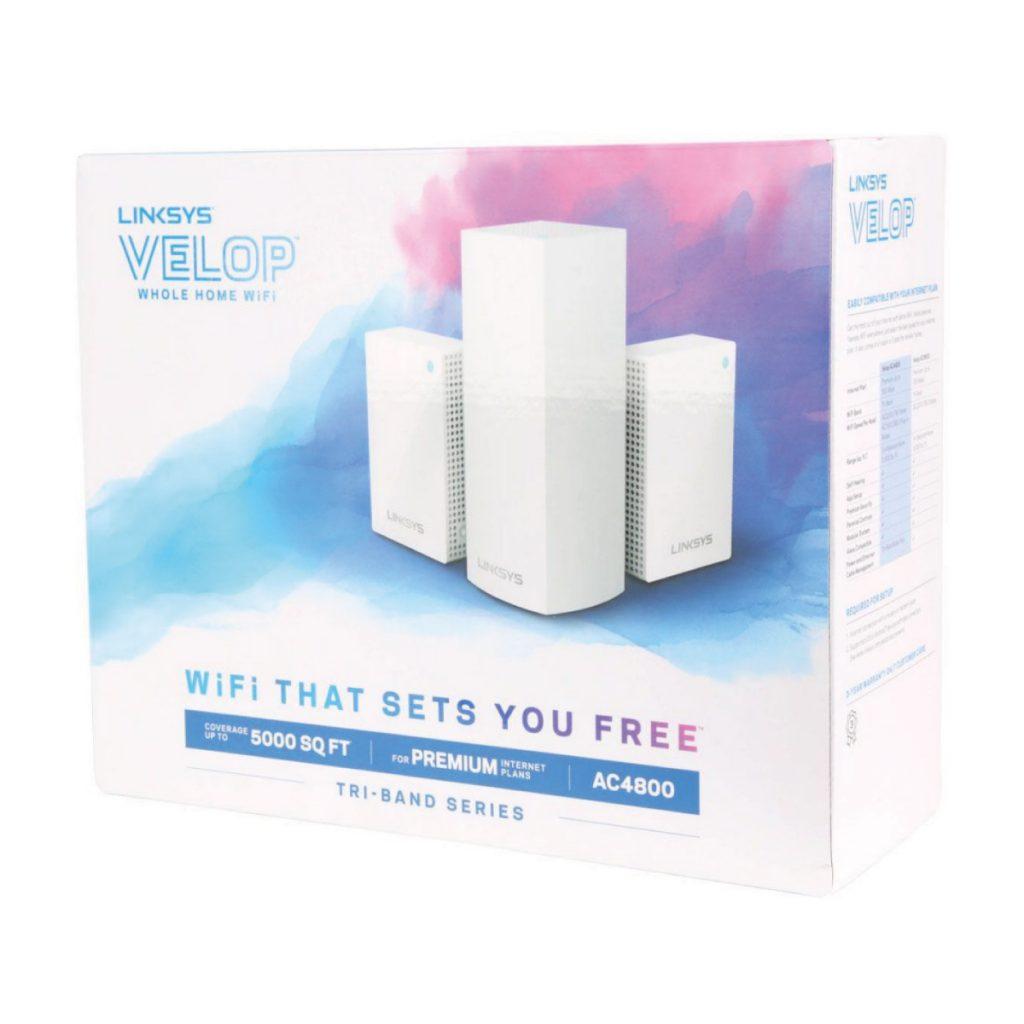 Linksys Velop WiFi Intelligent Mesh de triple banda (AC4800)