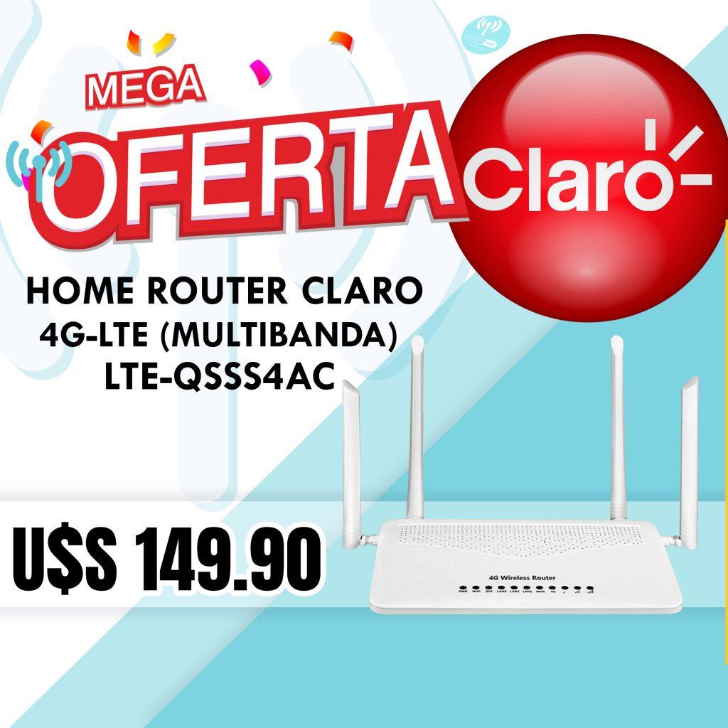 ROUTER 4G LTE-QSSS4AC (PARA CHIP CLARO)