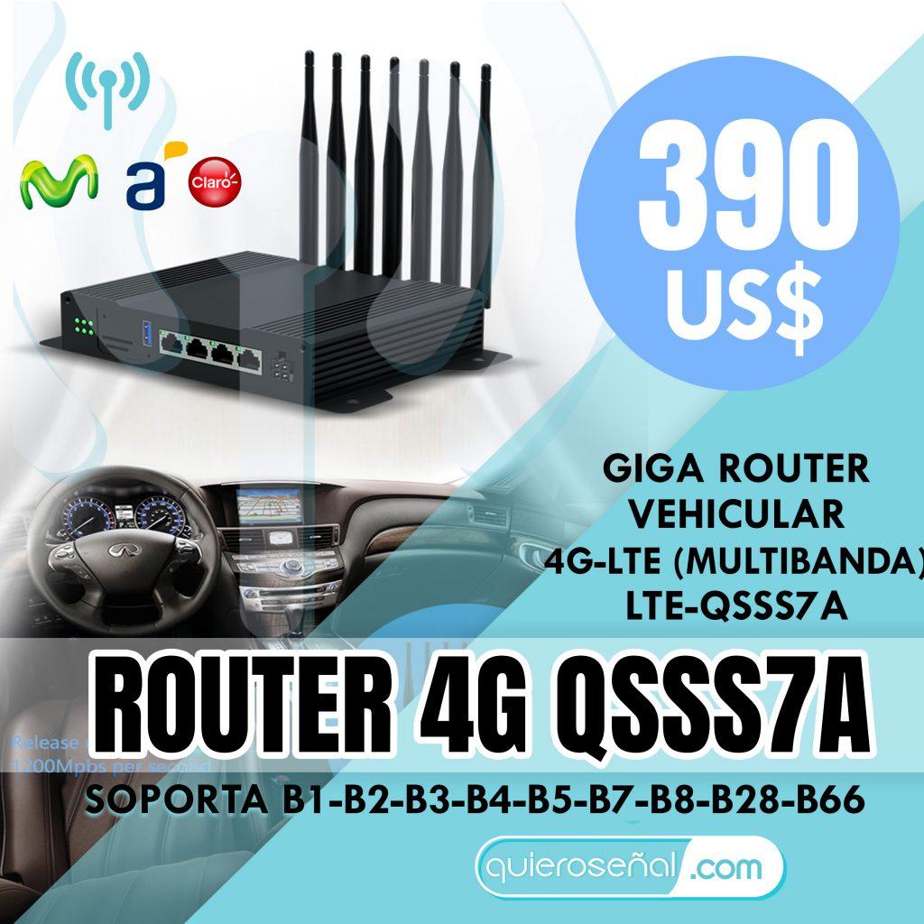 ROUTER 4G QSSS7A